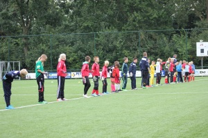 Warming up keepers school Groningen