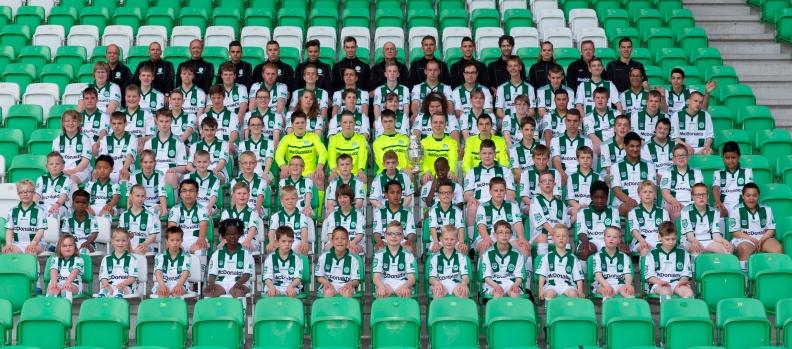 Teamfoto Kids United seizoen 2015 - 2016