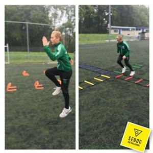 Training Sedoc Voetbalschool