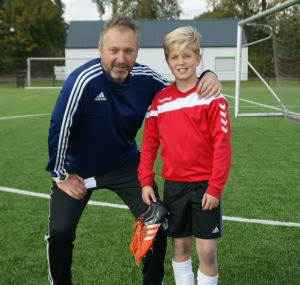 Sil Rutgers en trainer Andre Wolfs