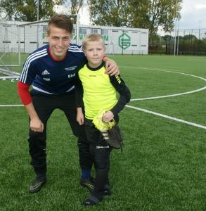 Mark Woortmeijer en trainer Sander Mulder