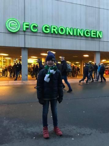 Vasco Fels bij FC Groningen